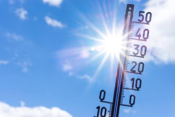 Die erste Hitzewelle steht im Osten bevor