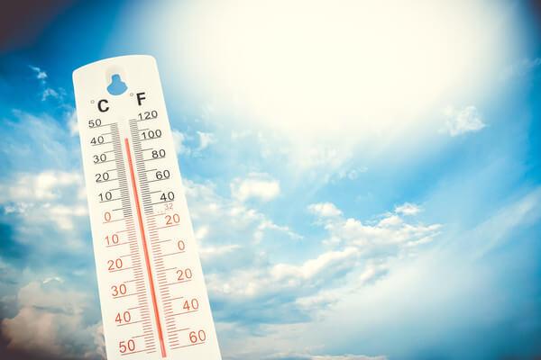 Die Hitzewelle bringt Temperaturen bis zu 38 Grad!