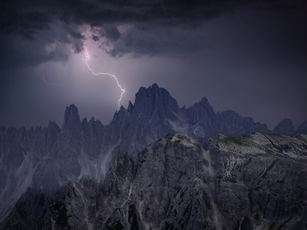 Über 300.000 Blitze im Sommer 2019