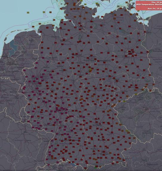 Große Hitze nächste Woche in Deutschland.