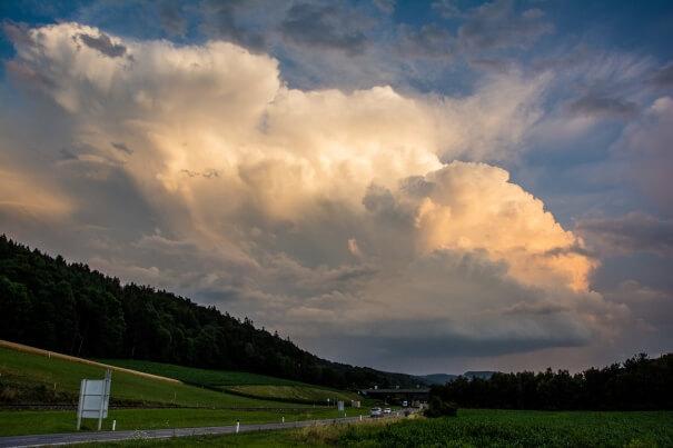 Gewitter am Wechsel. © Daniel Eßletzbichler