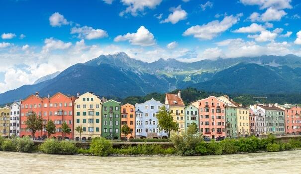 Innsbruck mit Inn