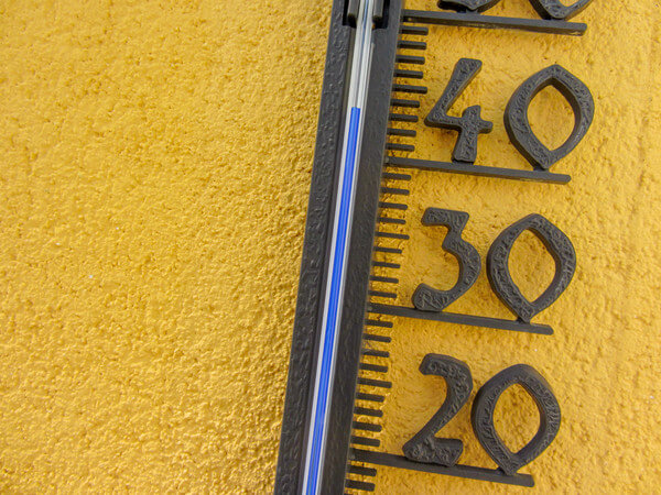Am Donnerstag werden bis zu 40 Grad erreicht.