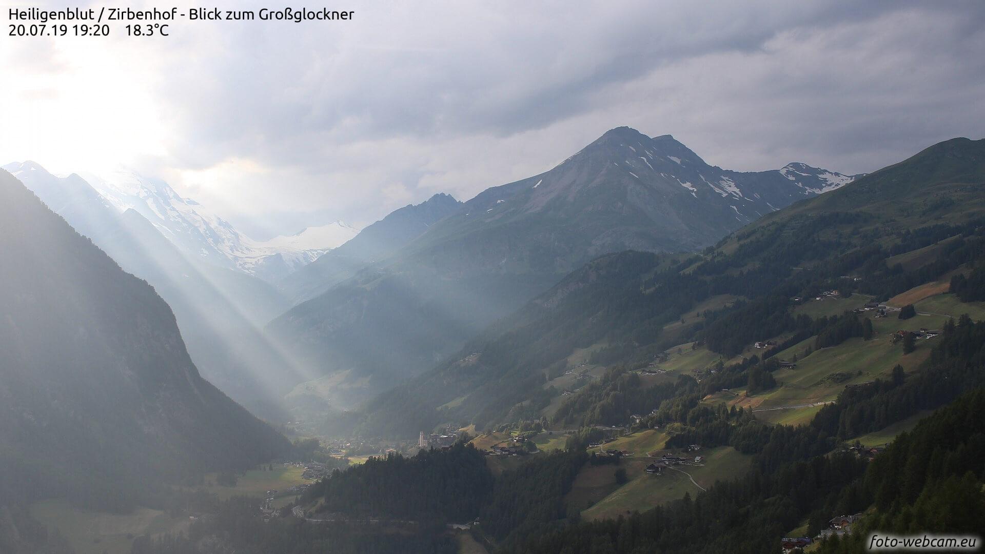 Am Sonntag besonders an der Alpensüdseite gewittrig