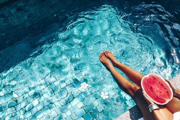 Am Wochenende vorübergehend sommerlich heiß mit bis zu 34 Grad