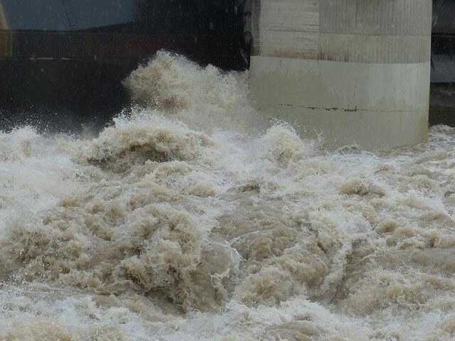Überflutungen in Spanien.