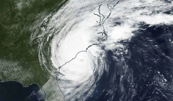 Ex-Hurrikan Dorian nimmt Kurs auf Europa