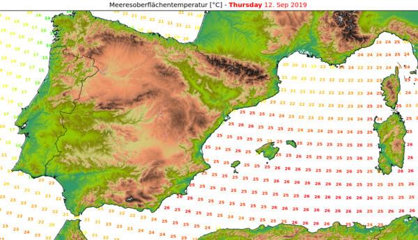 Warmes Mittelmeer