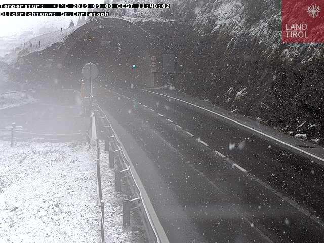Schnee am Arlberg. © Land Tirol