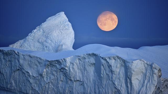 Symbolbild eines Eisbergs