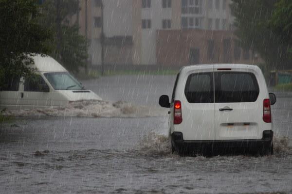 Gewitter bringen Starkregen