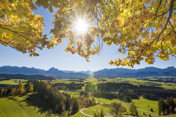 Wechselhafte Wetterwoche, ab Freitag Goldener Oktober