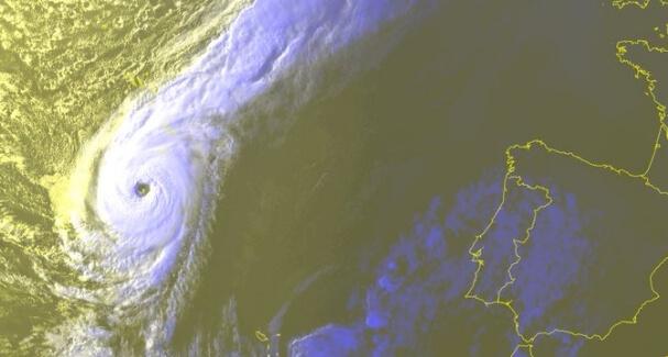 Hurrikan Ophelia im Jahr 2017