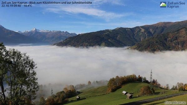 Nebel im Pinzgau.