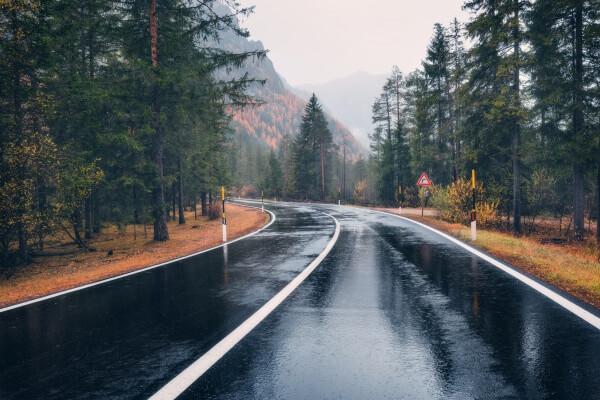 Regnerischer Herbsttag
