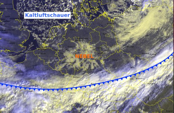 Aktuelles Satellitenbild von Montag 10 MEZ