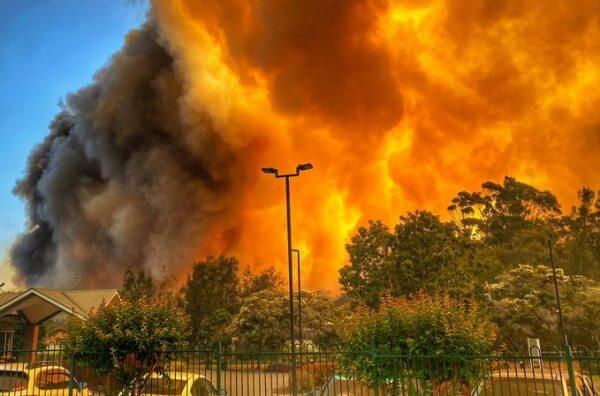 Riesige Buschbrände in Australien