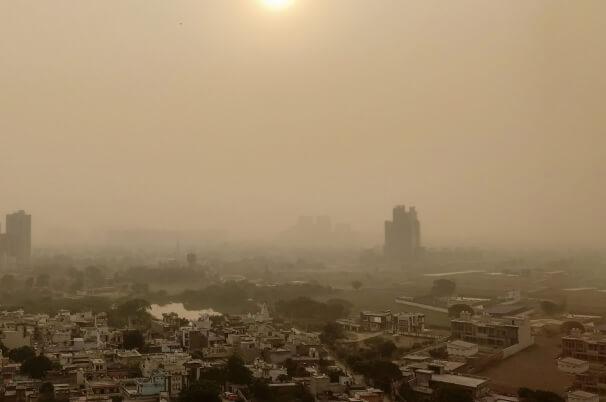 Extreme Luftverschmutzung in Indien