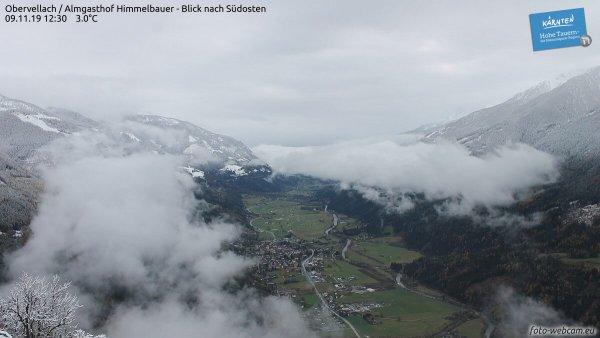 Viel Regen und Schnee weiterhin in Osttirol und Kärnten.