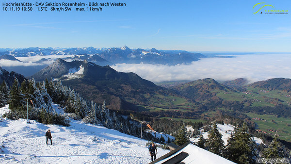 Webcam Hochrieshütte, dt. Alpen @ https://www.foto-webcam.eu/