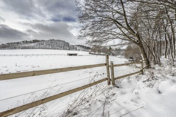 1. Advent: Etwas Schnee im Südwesten