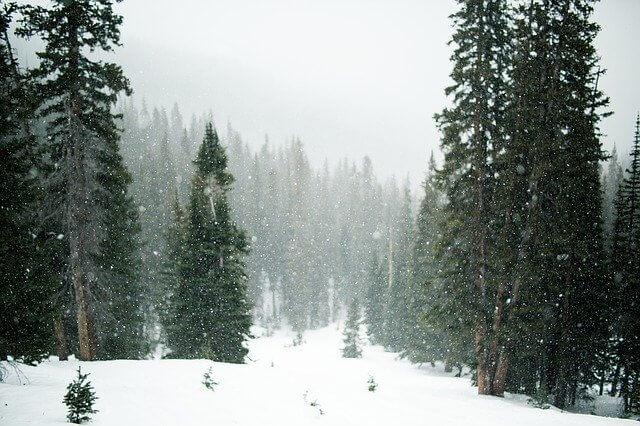 Am Freitag Föhnsturm, Regen und Schnee