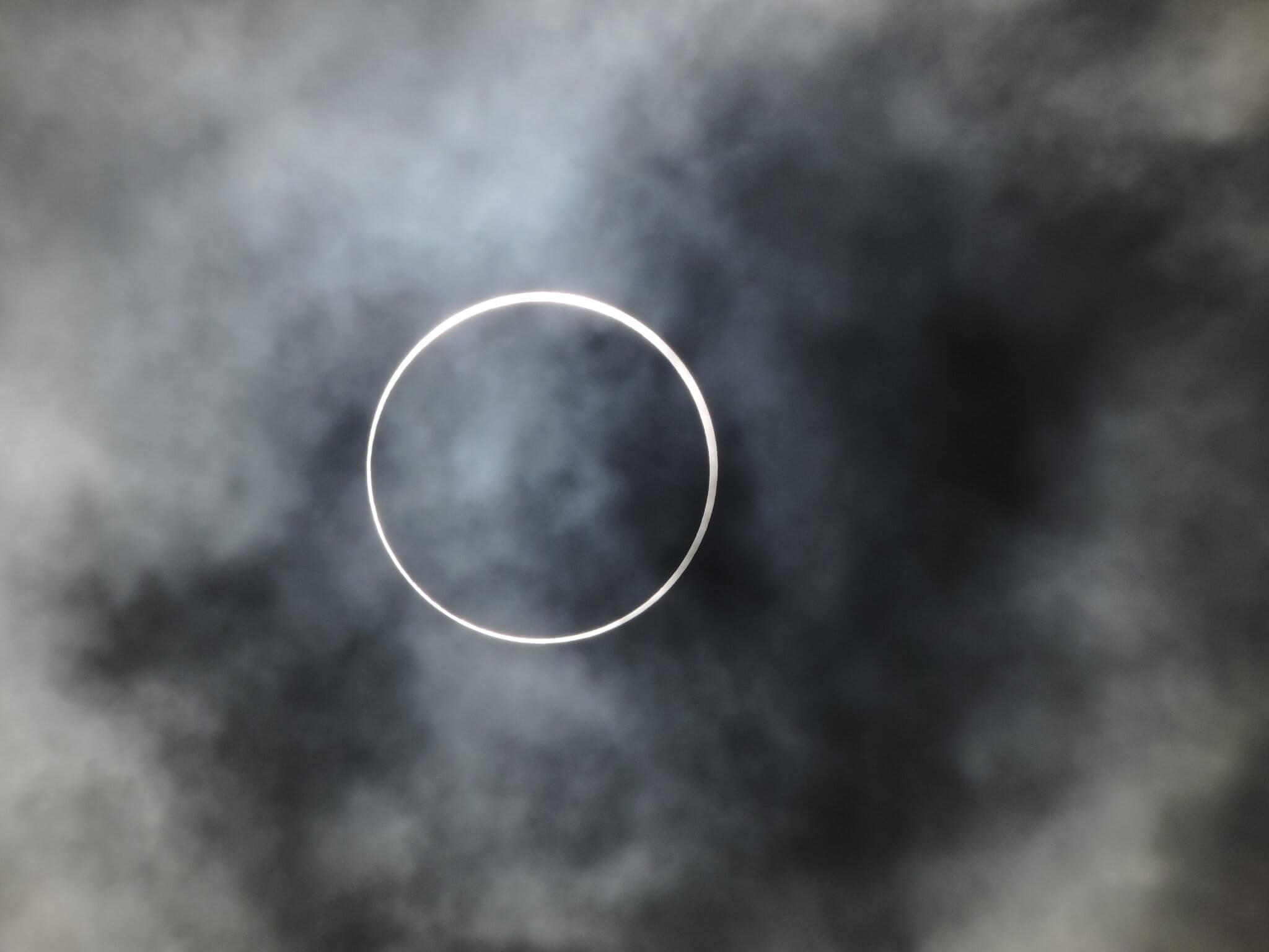 Fotos: Ringförmige Sonnenfinsternis