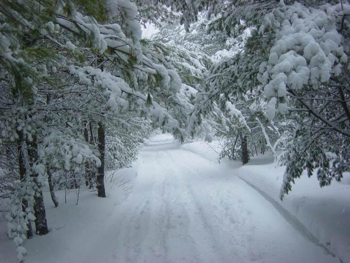 Ein intensiver Wintersturm zieht über die Mitte und den Osten der USA hinweg