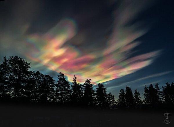 Stratosphärenwolke ©flickr.com