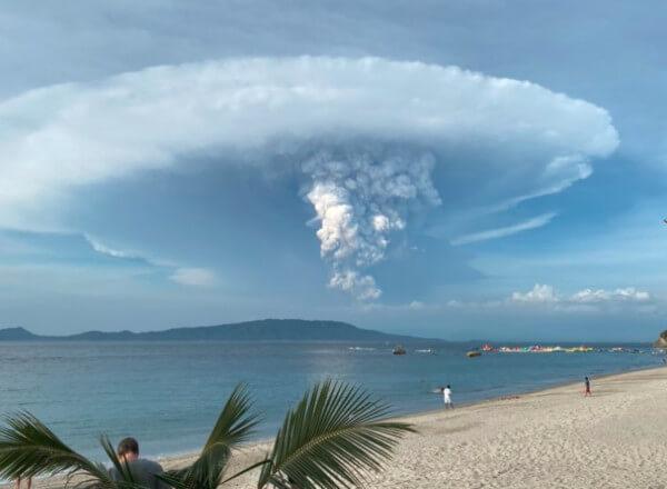 Ausbruch des Vulkans Taal @ https://twitter.com/seokjanekook