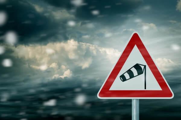 Orkantief SABINE sorgt für turbulenten Wochenbeginn