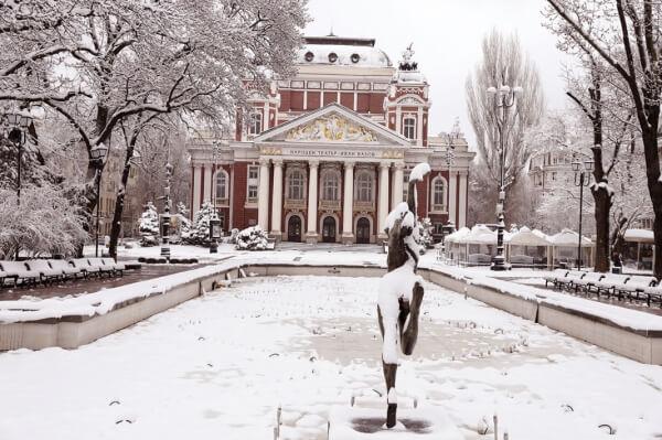 Tiefster Winter auf dem Balkan