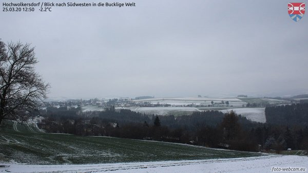 Später Neuschnee in Kärnten und der Steiermark