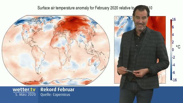 Wilde Wetter Welt 6. März 2020