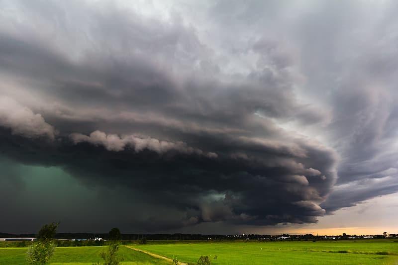 Schwere Gewitter am Ostersonntag im Süden der USA