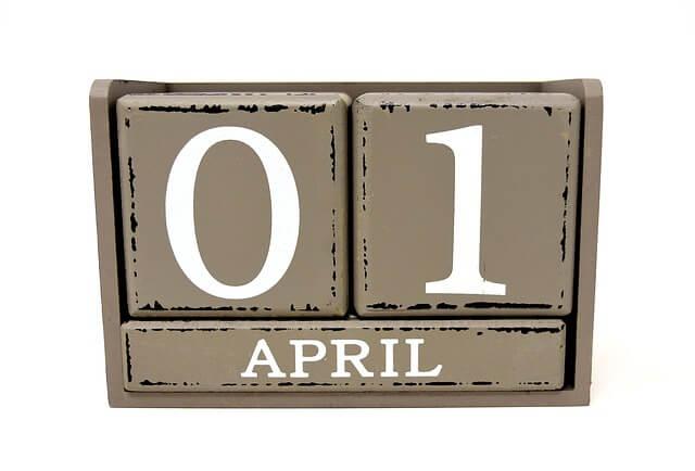"""Woher kommt der Name """"April""""?"""