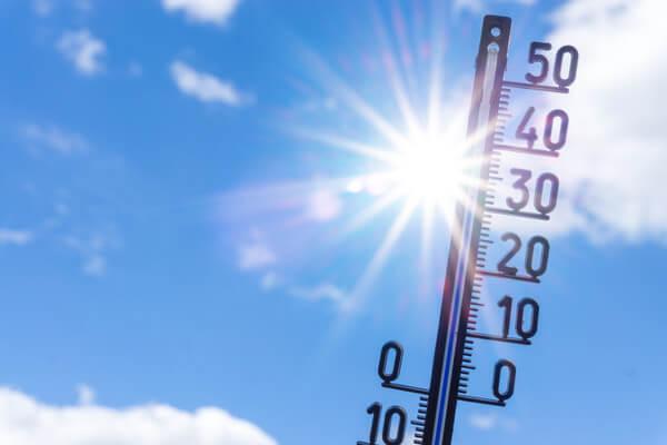Wann fallen die 30 Grad?