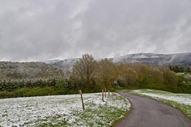 Schnee im Mai