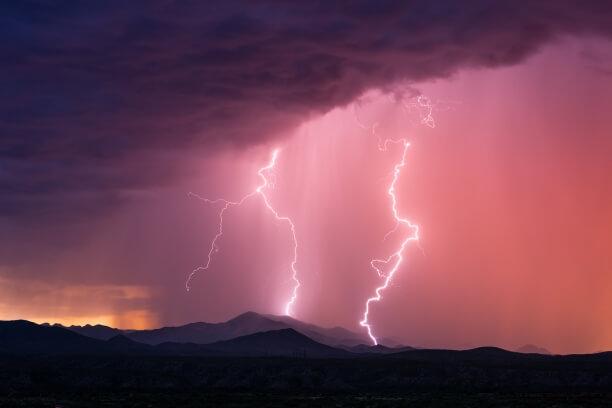 Tief GUDRUN bringt Gewitter, Regen und teils stürmischen Wind