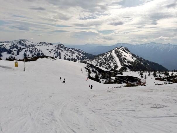 Schneelage in den Alpen: Vor einem Jahr Skifahren am Hochkar