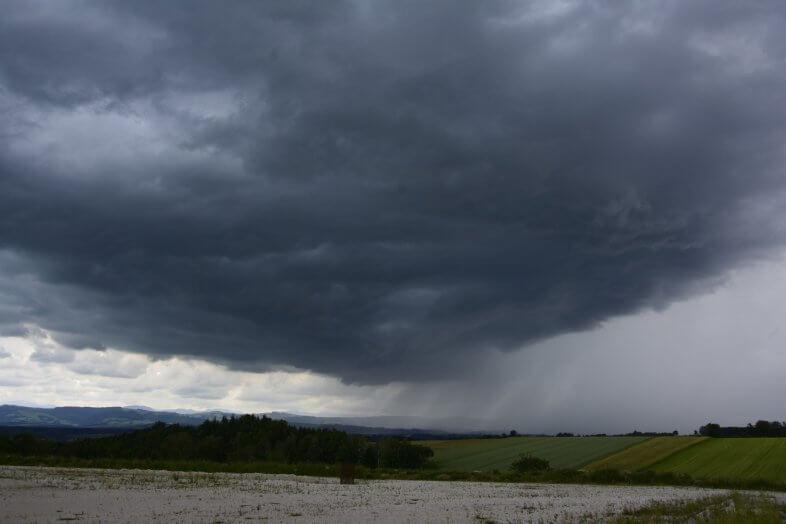 Hagelgewitter bei Kematen an der Ybbs (Amstetten) - Storm Science Austria