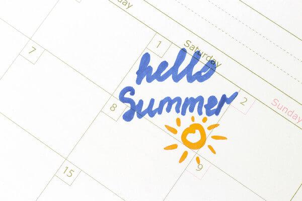 Meteorologischer Sommerbeginn