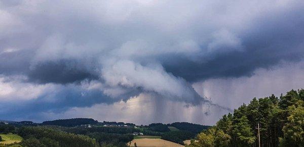 Gewitter im Mühlviertel. Quelle: Storm Science Austria