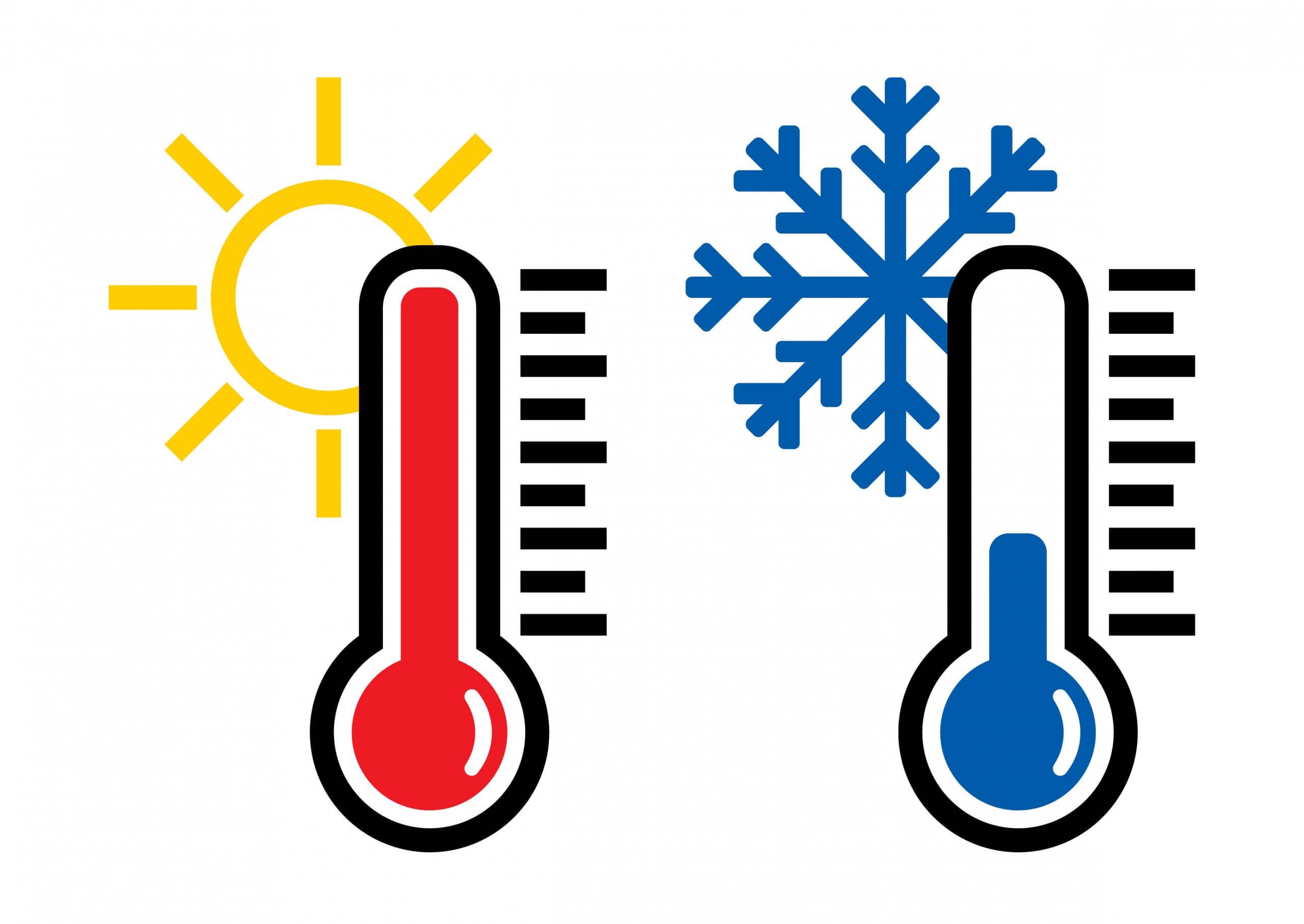 Markanter Temperatursturz