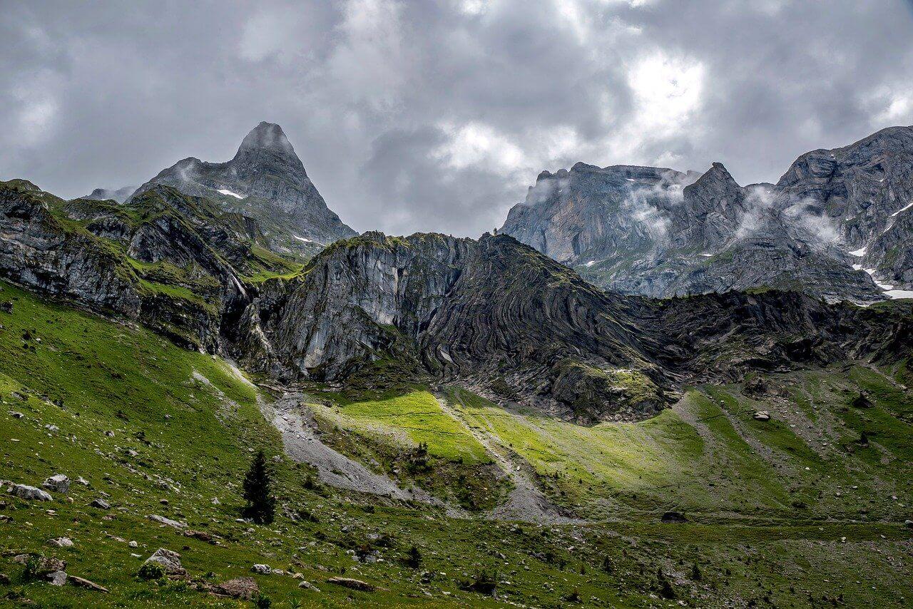 Wolken über den Alpen - pixabay.com