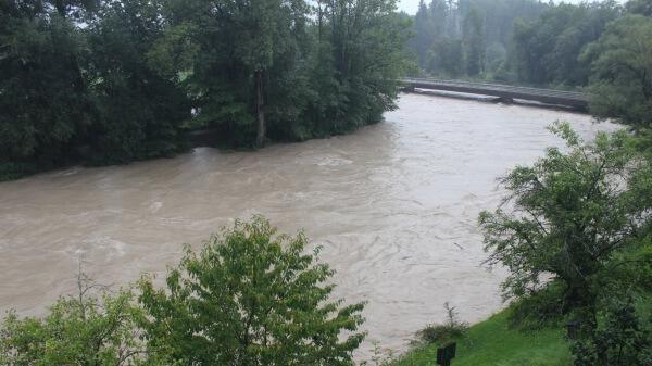 Hochwasser und Dauerregen