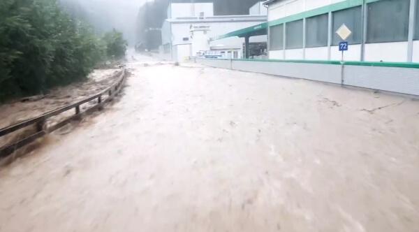 Unwetter in der Steiermark und im Burgenland