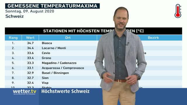 Wilde Wetter Welt 10. August 2020