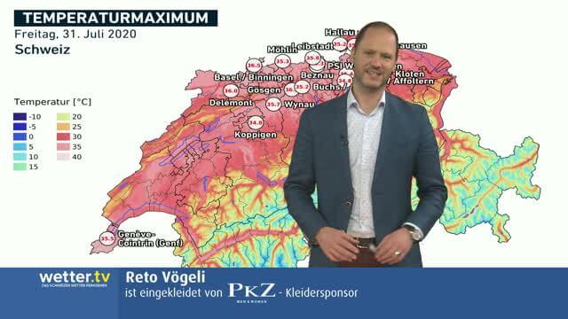 Wilde Wetter Welt 3. August 2020