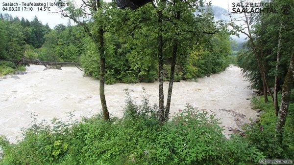 Steigende Pegel und lokale Überflutungen